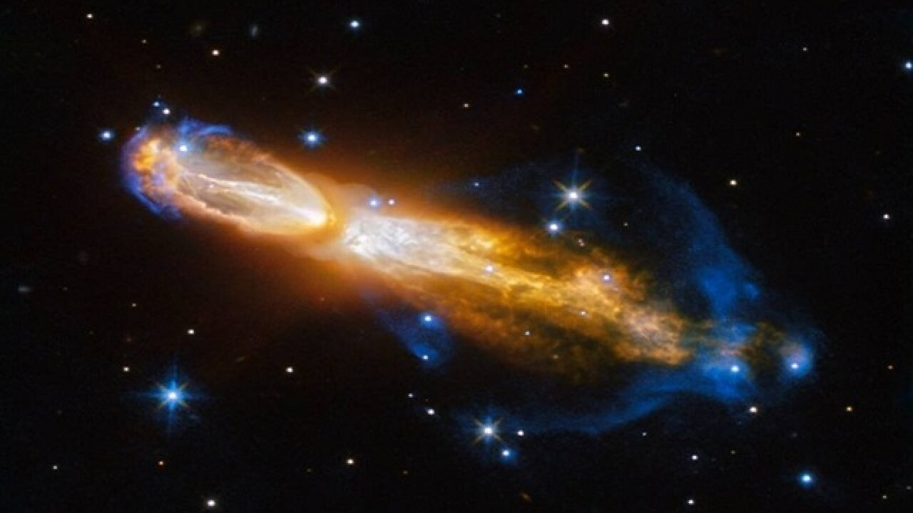 Explosive, stinky star death captured by Hubble telescope