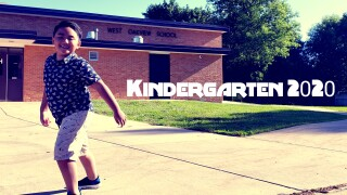 Redd graduates kindergarten