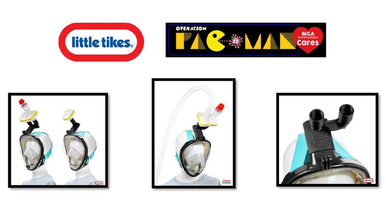 Little Tikes producing Lev Love masks for frontline workers