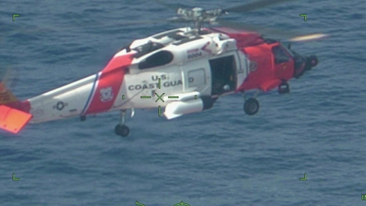 Coast Guard Hatteras medevac (July 19)