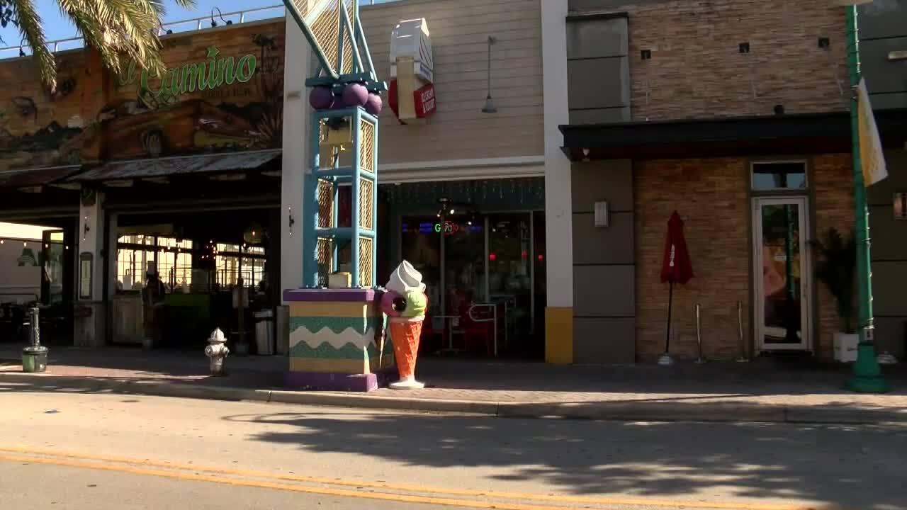 Brendy's Ice Cream & Yogurt in Pineapple Grove neighborhood of downtown Delray Beach
