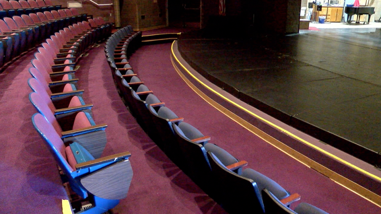 ECC theater to get $35 Million makeover