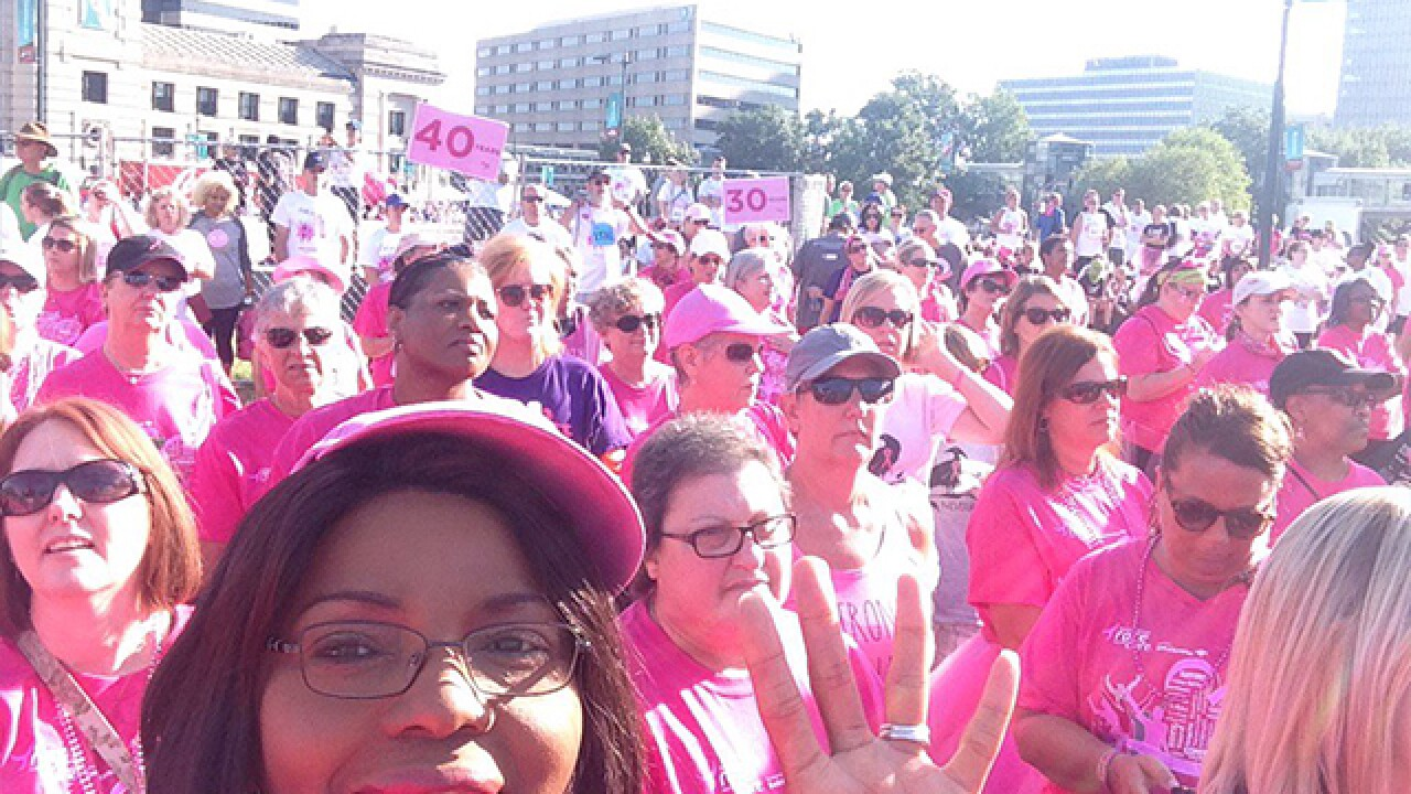 Race for the Cure draws fewer participants