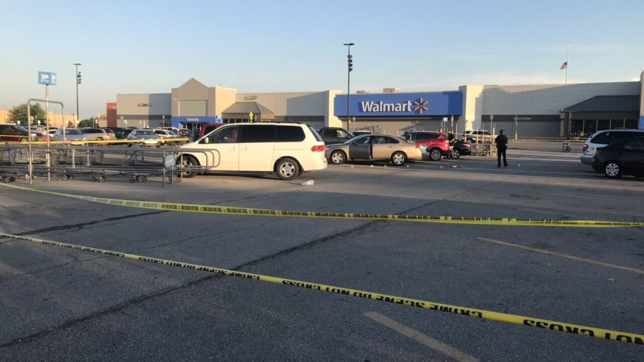 One person hurt in shooting outside Raymore Walmart