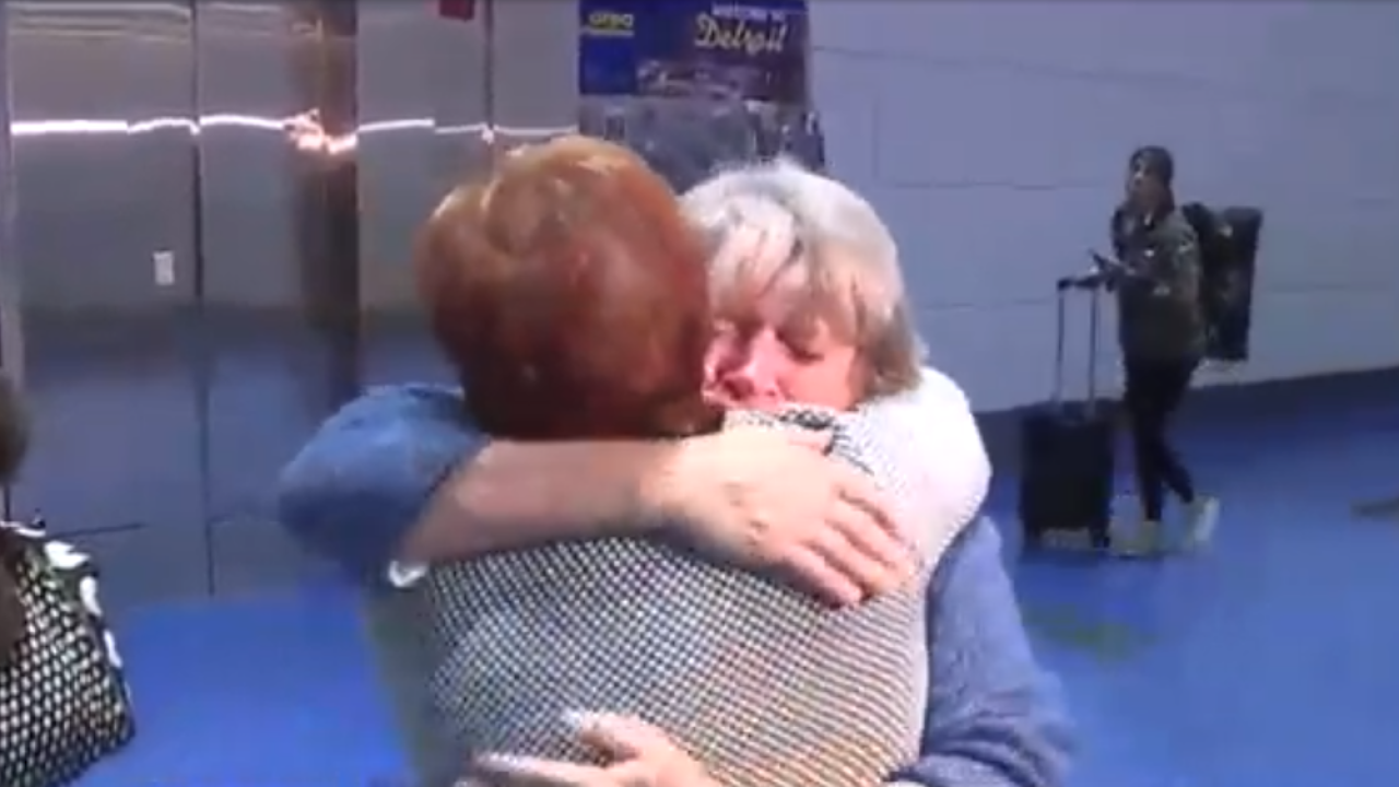 75 years in the making: Michigan woman meets sister she never knew she had for the first time