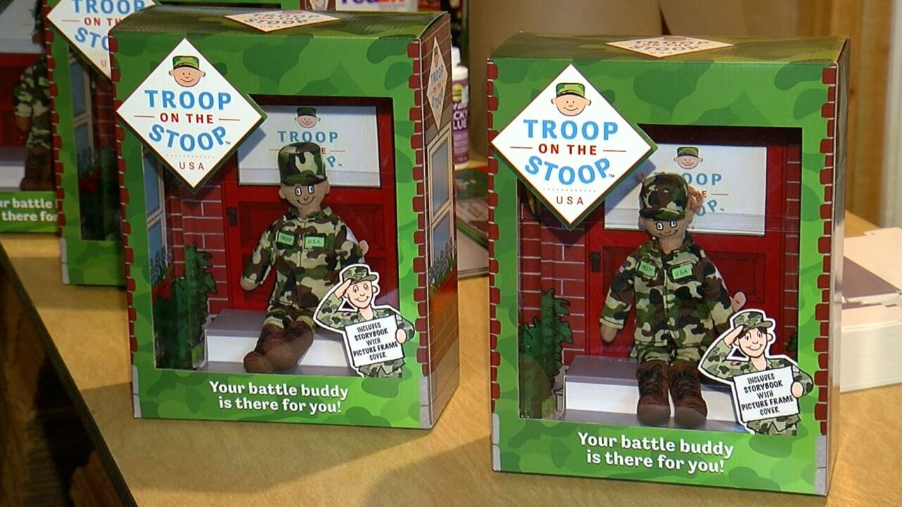 Troop on the Stoop in the box