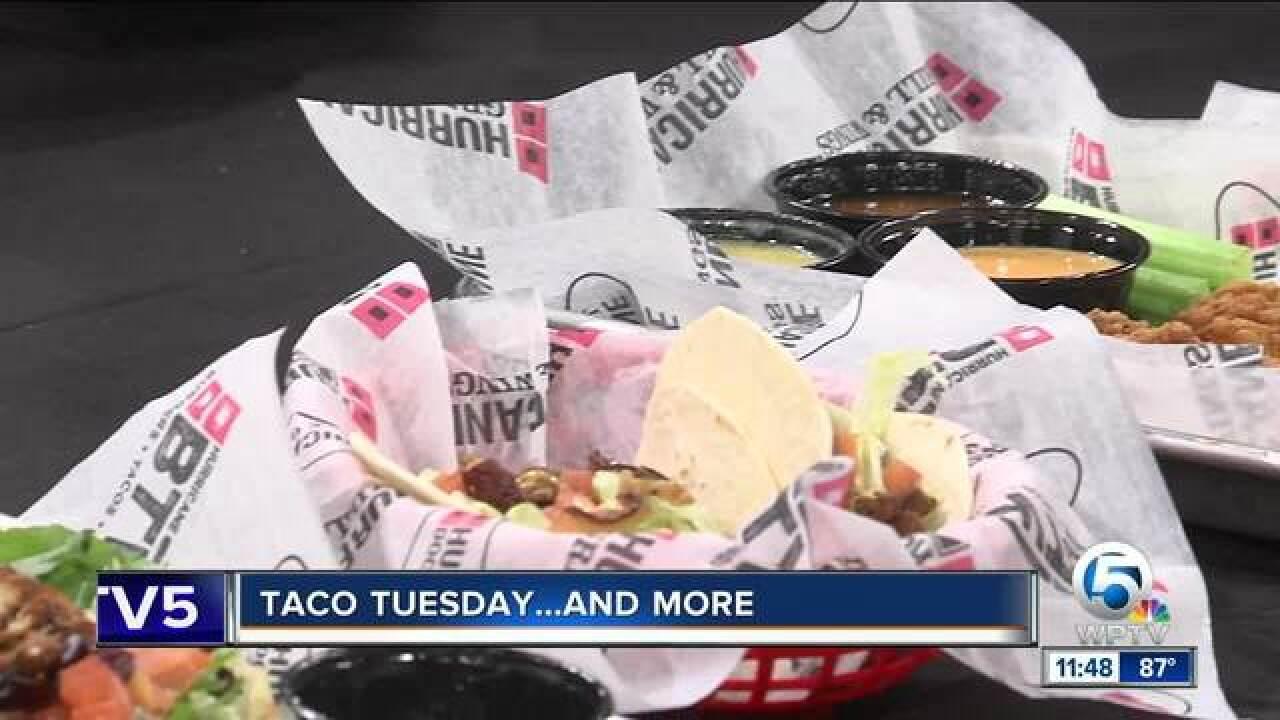 Taco Tuesday with Hurricane BTW