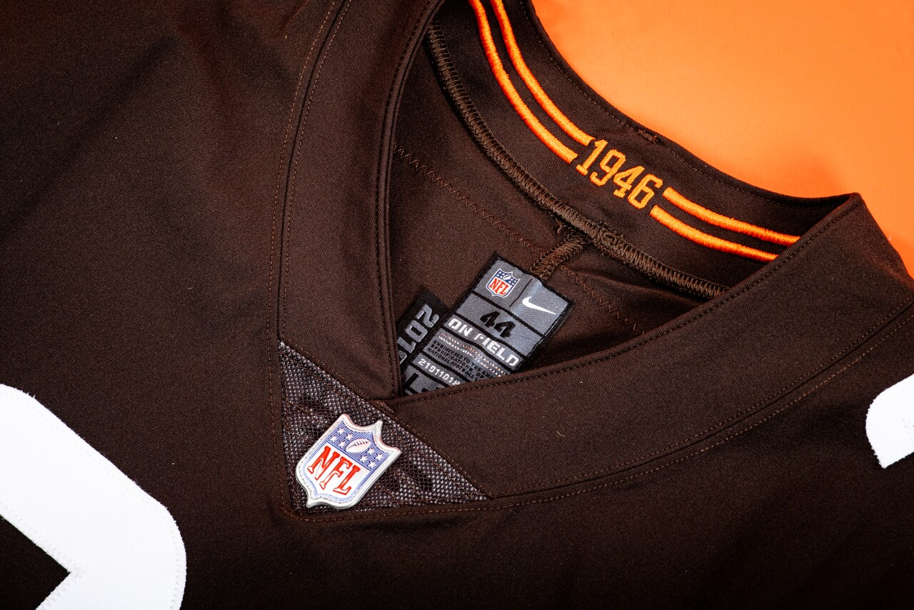 Browns 1946 new uniforms