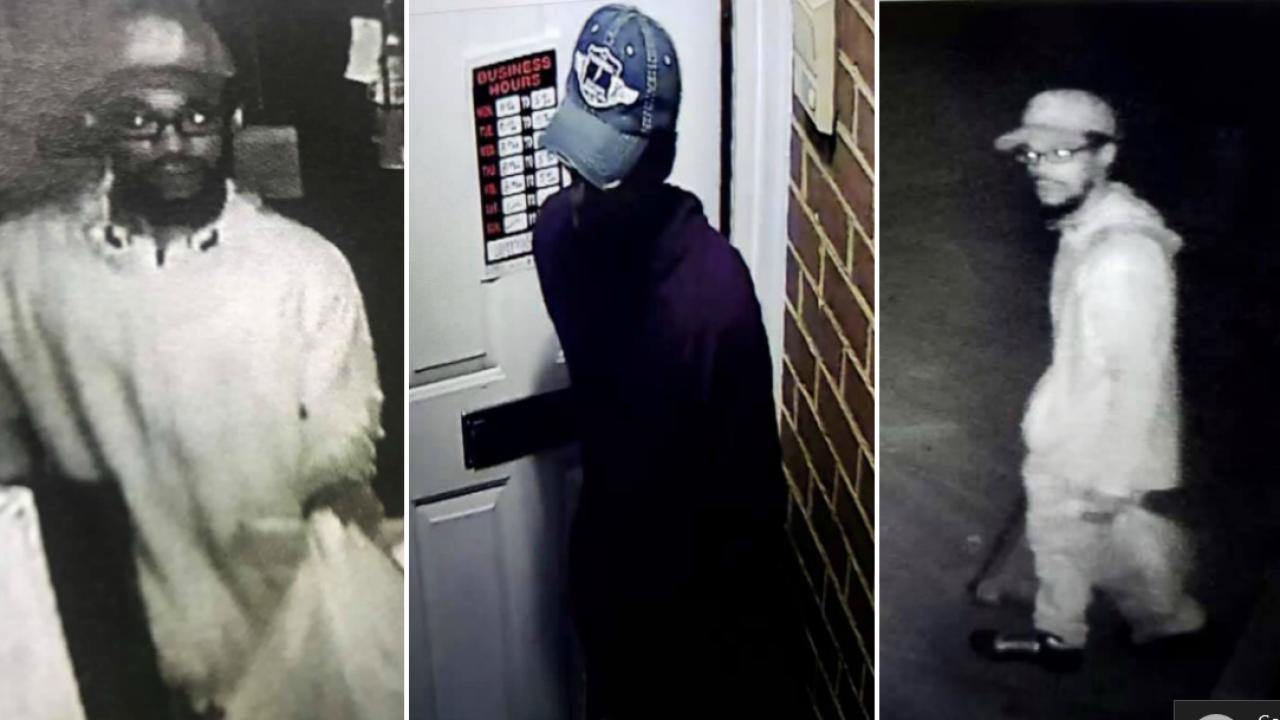 Petersburg Police seeking to identify burglarysuspect