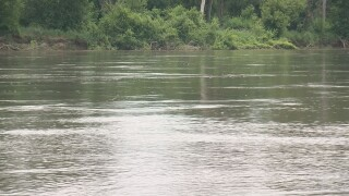 Missouri River water levels rise