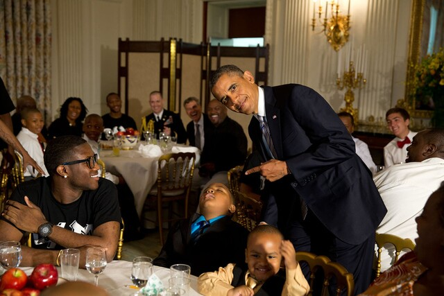 Favorite photos as President Obama's second term comes to an end