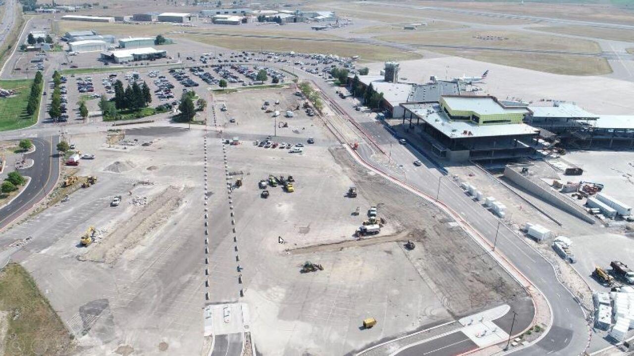 Missoula airport navigates economic drag of COVID; terminal construction advances