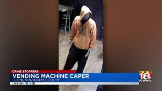 Crime Stoppers: Police Looking For Vending Machine Thief