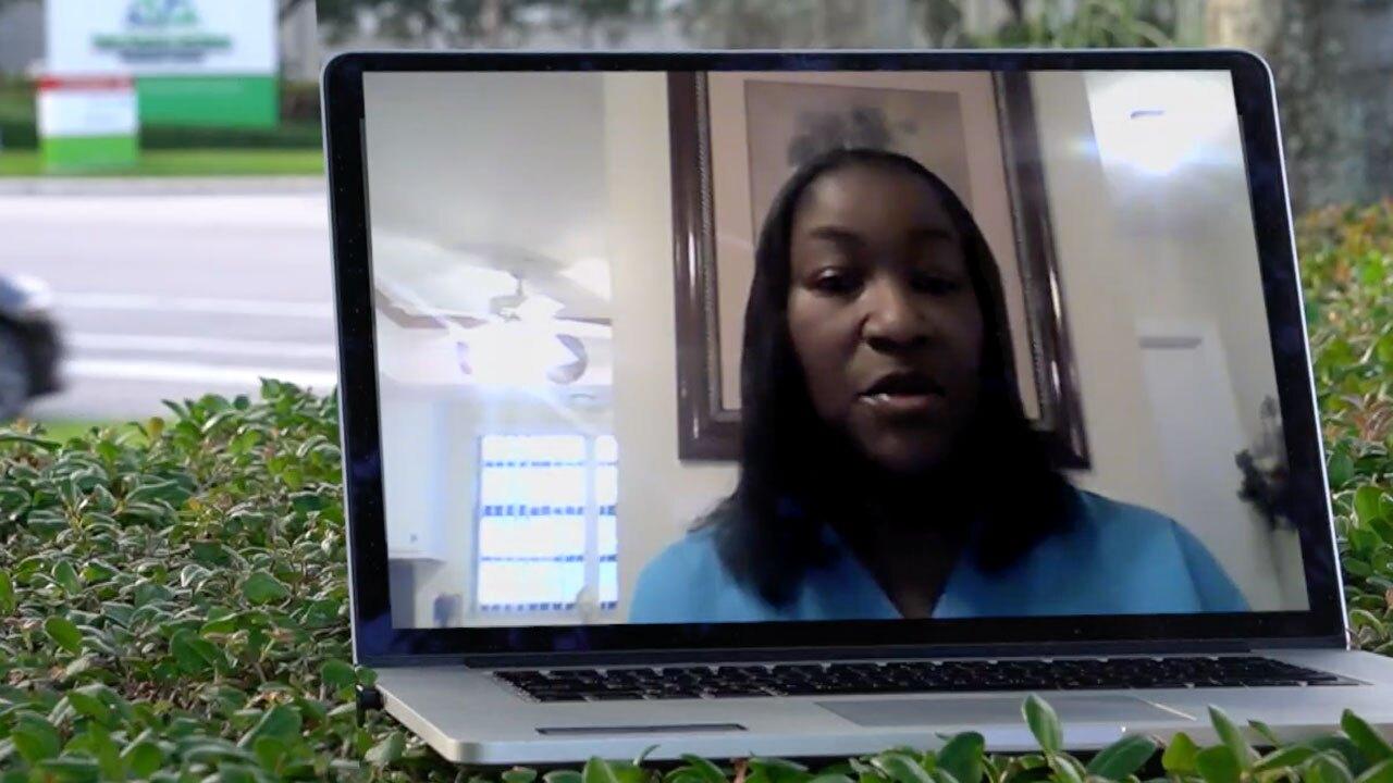 Rochun Ridley-McCray, head of the Palm Beach County Black Nurses Association
