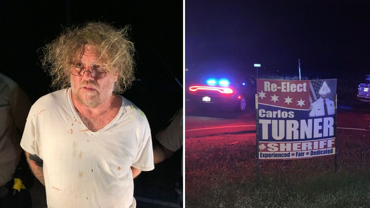 Man charged with defacing Surry County campaign signs with KKKsymbols