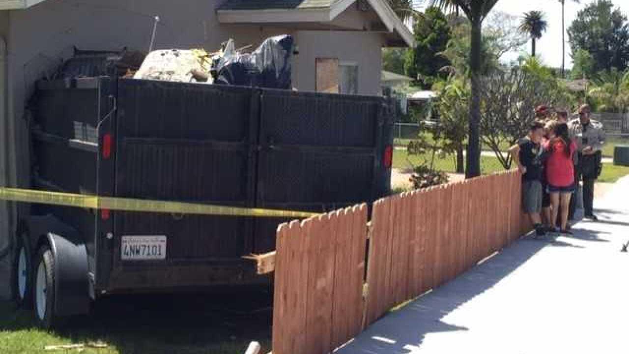 Car slams into Lemon Grove home