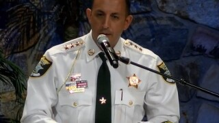 Sheriff swearing in to be held Monday
