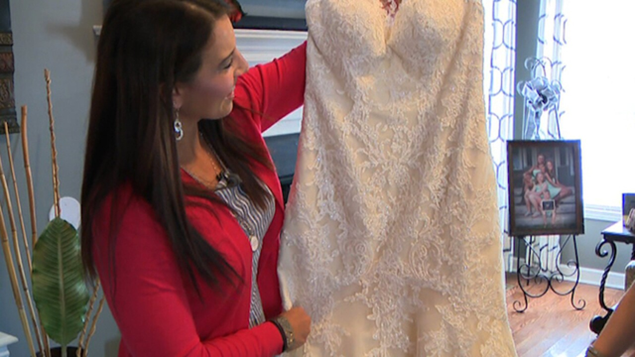 Chicago nurse gifts her unused wedding dress to woman battling breast cancer