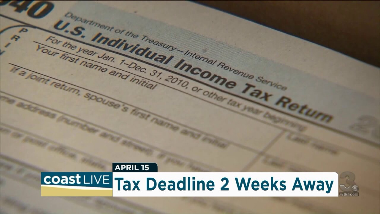 "The ""Wealth Whisperer"" shares some last-minute tax tips on Coast Live"