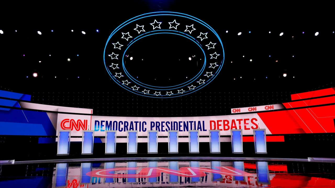 CNN's two-part Democratic debate