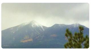 NWS Flagstaff snowfall Sept 23 2019