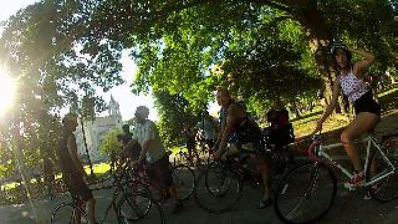 HOLMBERG: Critical Mass bike ride slows the flow down to easy biking speed