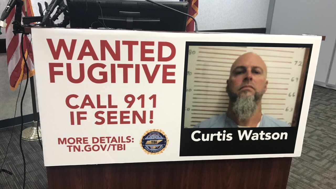 $52,500 reward offered for capture of escaped Tennessee inmate