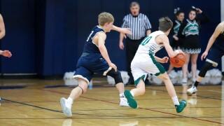 Red Lodge vs. Columbus - District 4B boys basketball semifinal