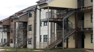 Woodcrest student Apartments on the campus of Northern Kentucky University, Willow building