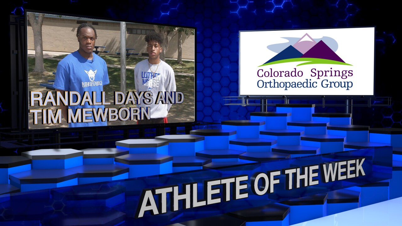 KOAA Athlete of the Week: Widefield Basketball's Dynamic Duo