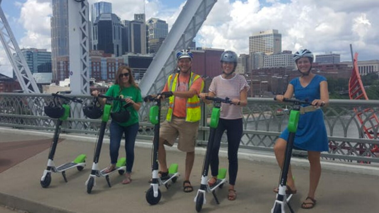 Scooter Safety Class Held In Nashville