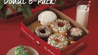 Tim Hortons is getting ready for the holidays with its festive new lineup