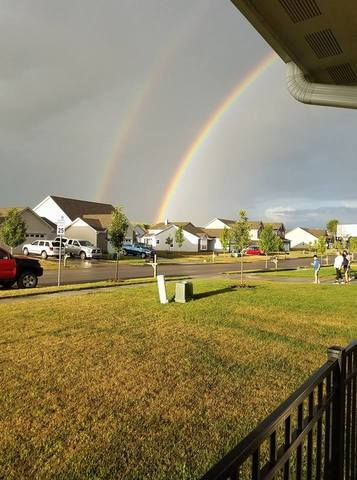 PHOTOS: Scattered rain brings rainbows across central Indiana