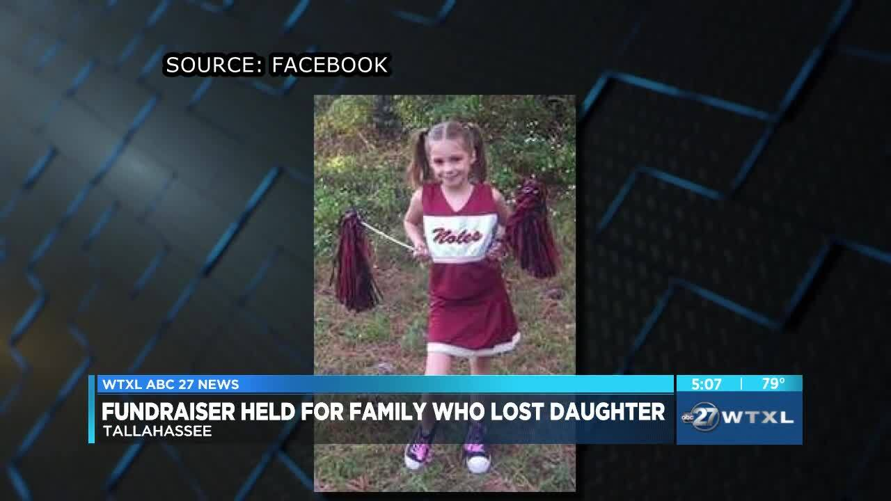 Fundraiser held for family who lost daughter in Leon County storm