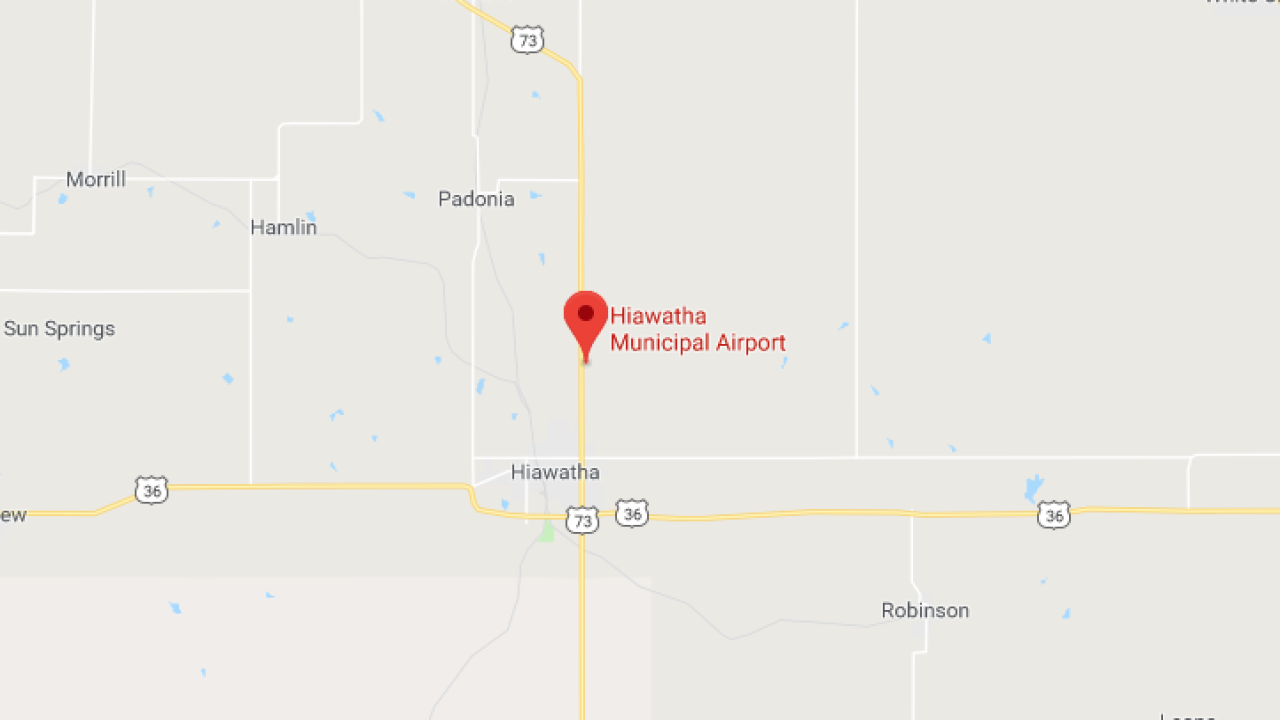Hiawatha Airport location.png