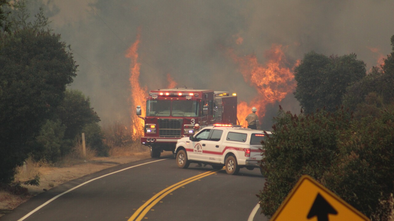 Valley Fire scorches thousands of acres as state of emergency declared