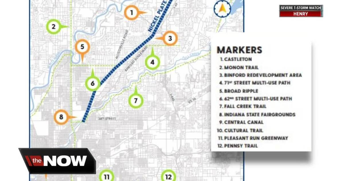 New details revealed in Indianapolis' plan to convert rail ... on indiana landmarks map, indiana state campgrounds map, indiana roof ballroom parking, indiana state parks map, indiana state capitol map, indiana historical society map, indiana state university parking map, indiana state fair 2013, ncaa headquarters map, indiana state county map, new orleans lower ninth ward map, bloomington hospital map, indiana state fair schedule, interactive indiana map, atlanta history center map, innsbrook after hours map, kennedy space center visitor complex map, indiana meth lab map, mid-ohio sports car course map, indiana elevation map with lakes,