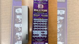 Georgia man fled traffic stop, left winning lottery ticket behind