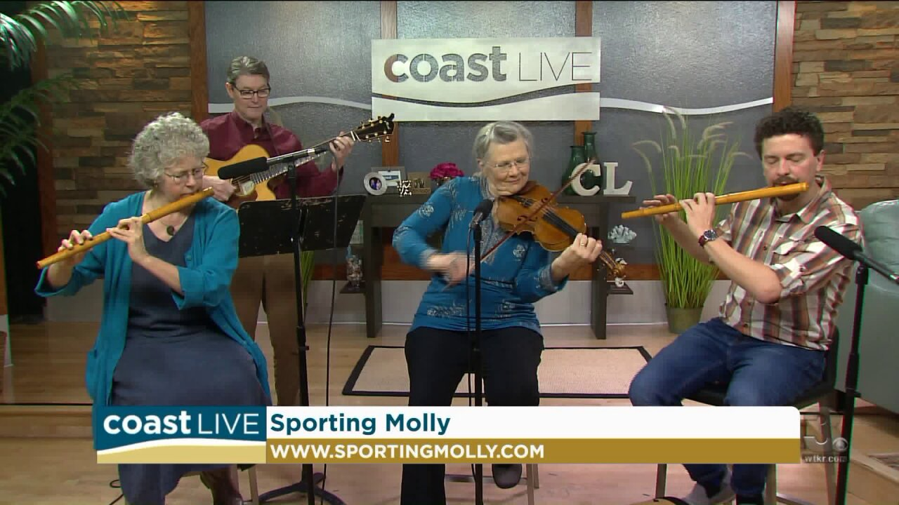 Local music spotlight with Sporting Molly on Coast Live