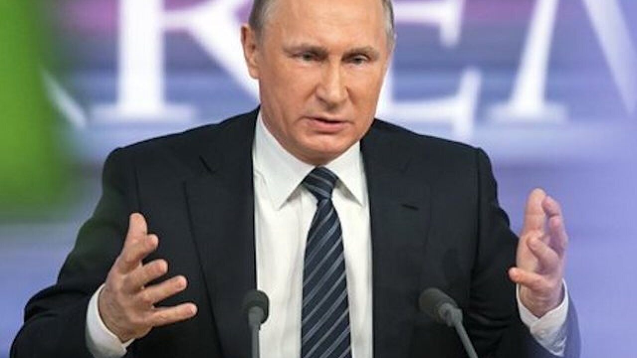 Putin: Russia's Syria operation will continue