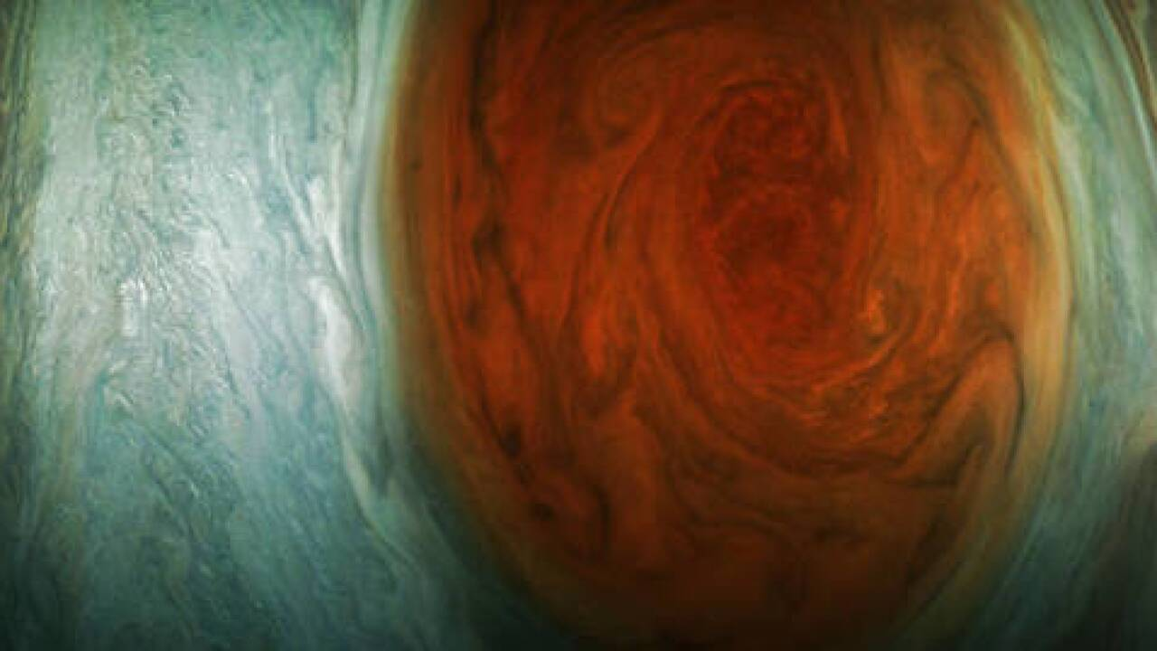 NASA releases new photos of Jupiter