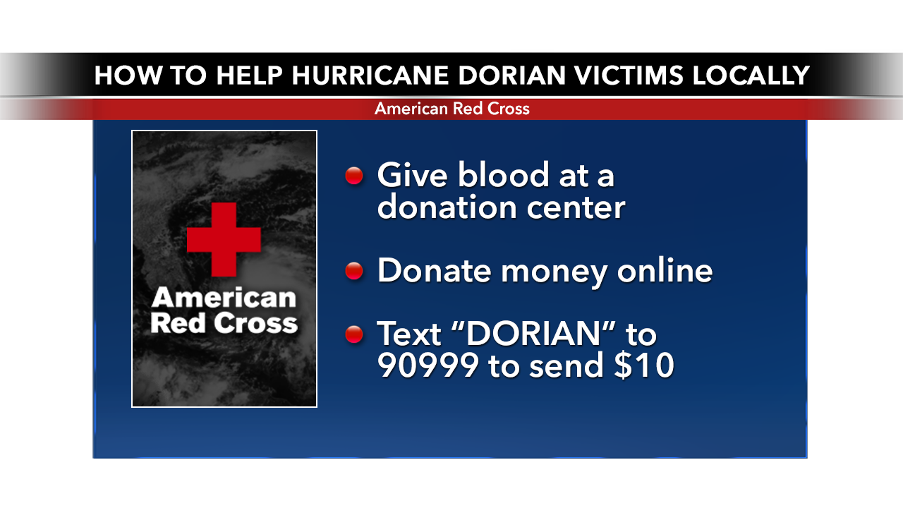 Local Red Cross volunteers prepare for Hurricane Dorian relief. Here's how you can help