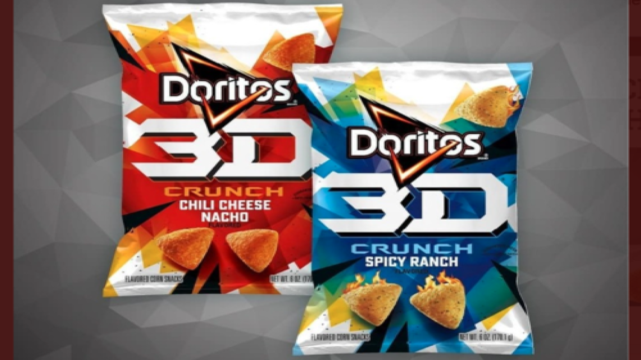 3D Doritos Are Returning To Stores