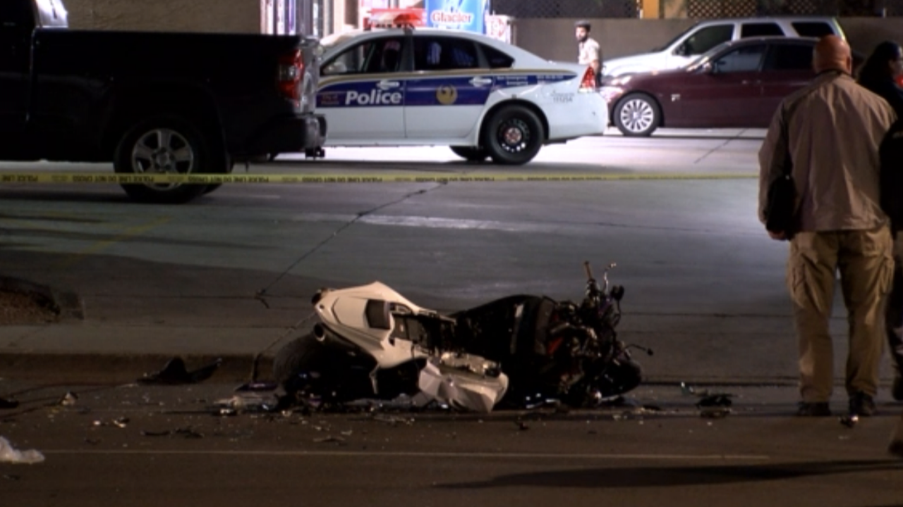 Deadly motorcycle crash near 7th Avenue and Roosevelt Street