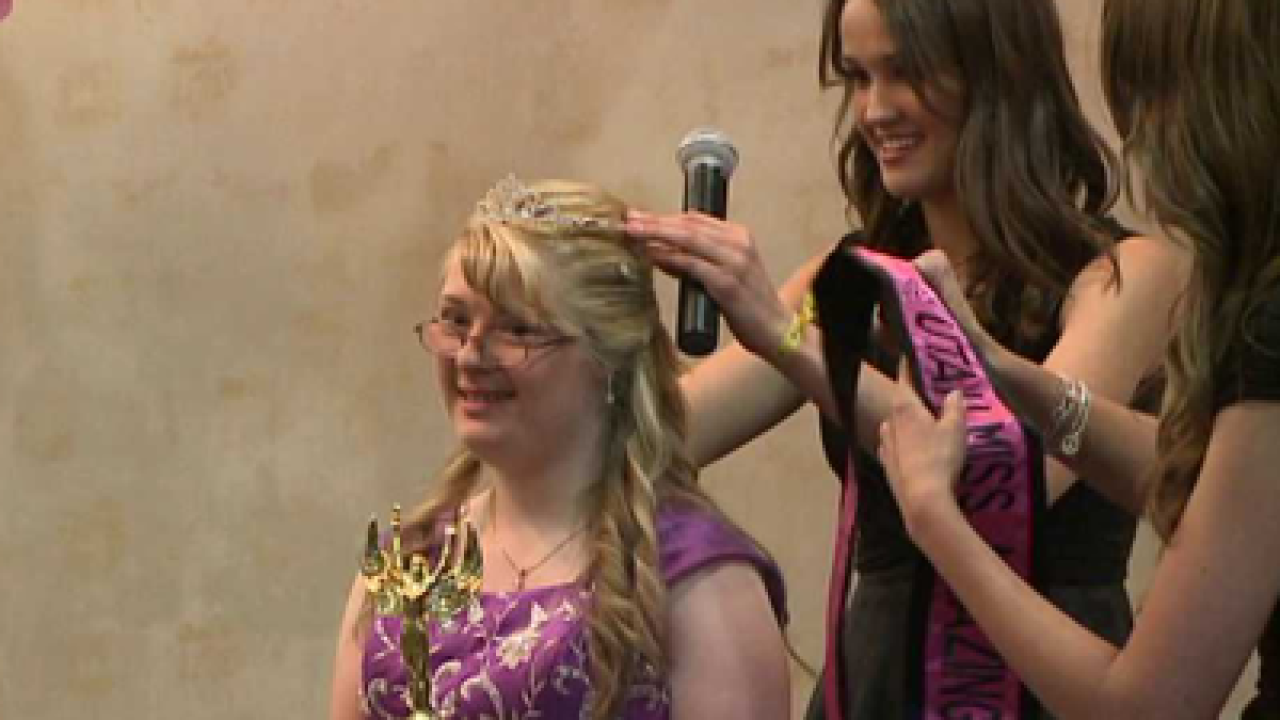 Miss Amazing Pageant is a confidence-booster for girls with special needs