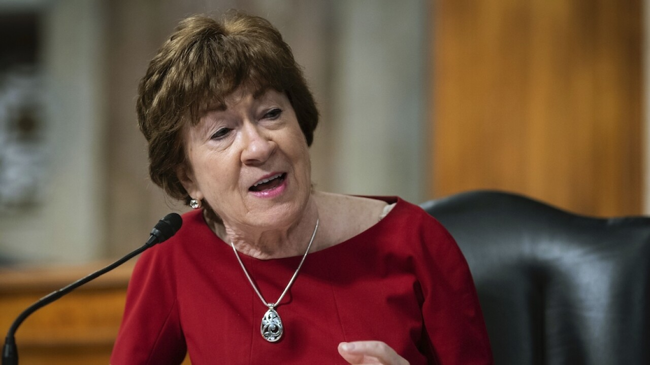 Trump attacks Sen. Susan Collins over rumors that she plans to vote against his SCOTUS nominee