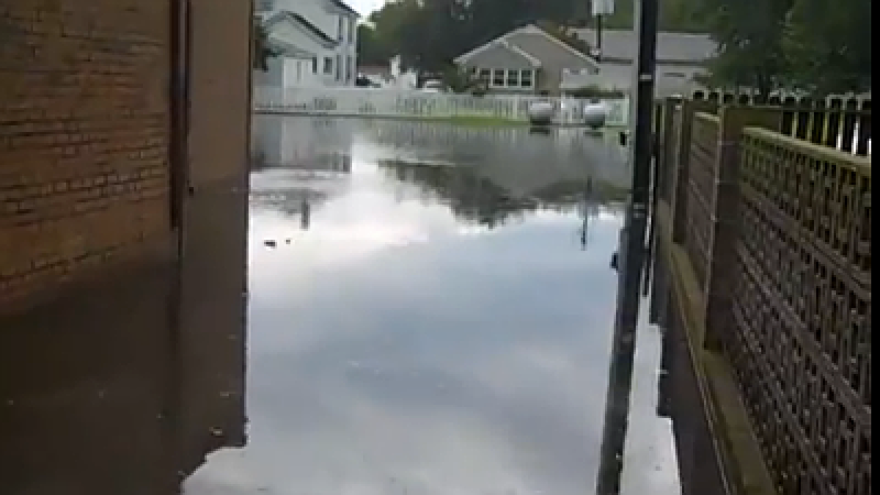 Raw Video: Flash flooding in Boykins