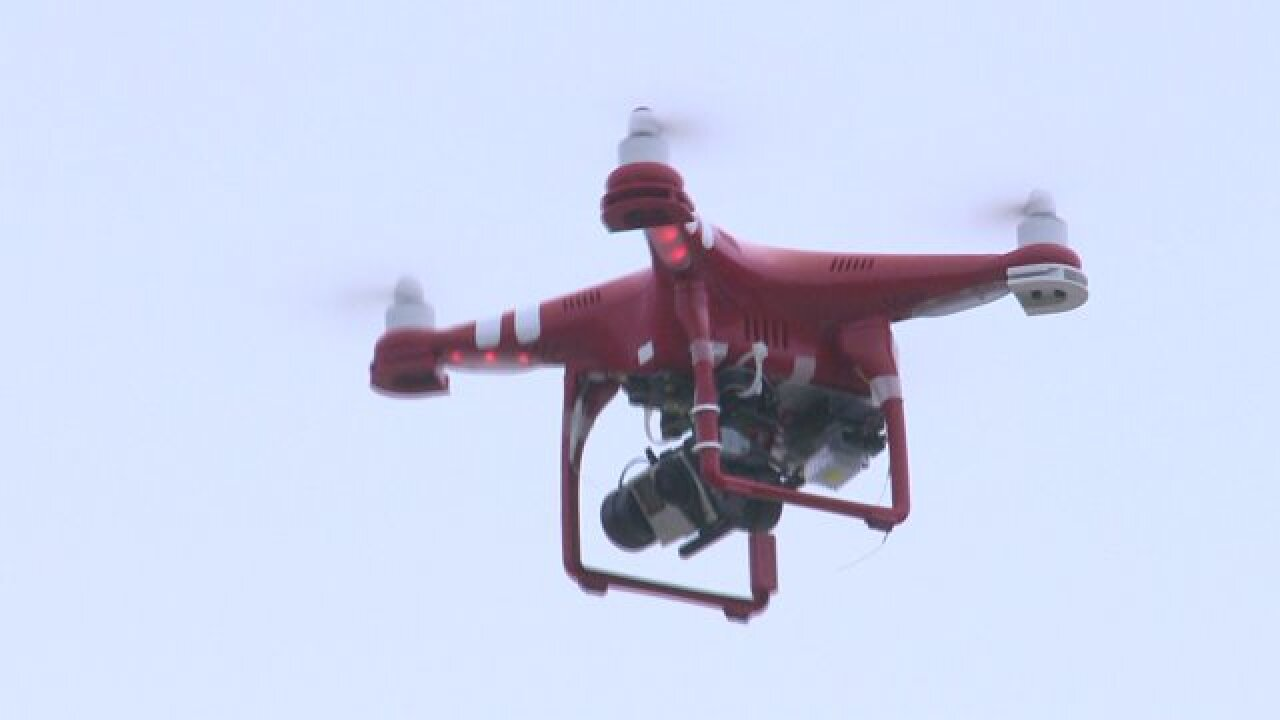 Carova volunteer fire department deploying drone to help spot fires