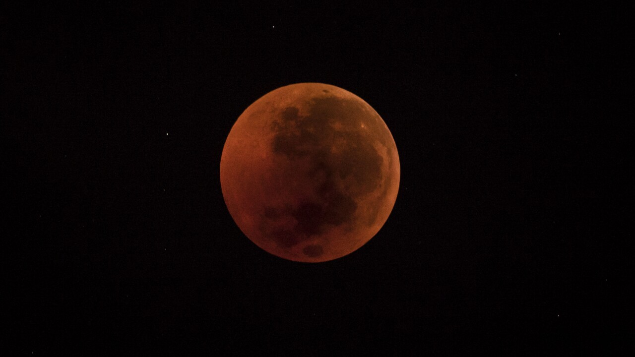 Total Lunar Eclipse Over Indonesia