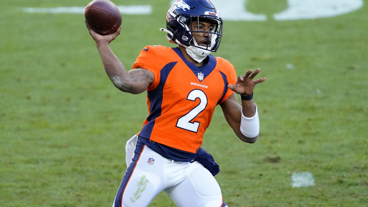 QB or not QB? That was question with no answer in Broncos' loss